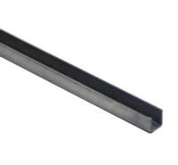 U750-285HD   STEEL U CHANNEL - 3/8 INCH x 6 FT