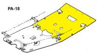 U10799-000   UNIVAIR REAR FLOORBOARD - FITS PIPER