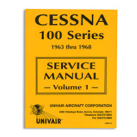 UD637-13   CESSNA 100 SERIES SERVICE MANUAL - VOLUMES 1 AND 2