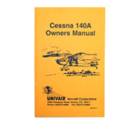 UP124-13   CESSNA 140A OWNERS MANUAL 1949-51