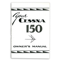 P187-13   CESSNA 150 OWNERS MANUAL 1959-60