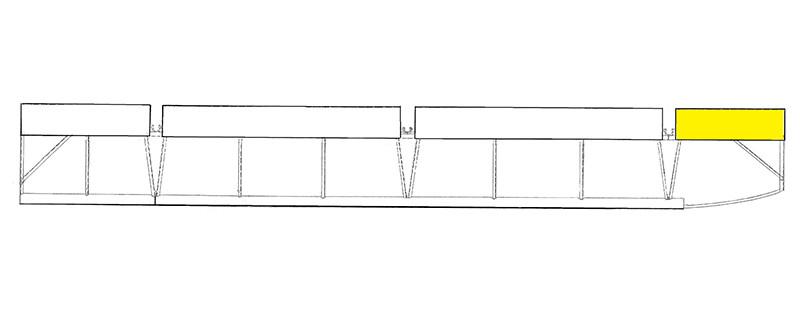 U40471-002 UNIVAIR OUTBOARD AILERON LEADING EDGE SKIN