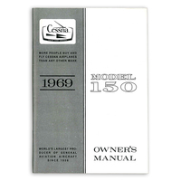 D624-13   CESSNA 150J OWNERS MANUAL 1969