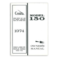 D1013-13   CESSNA 150L OWNERS MANUAL 1974
