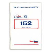 D1107-2-13   CESSNA 152 PILOTS OPERATING HANDBOOK 1978