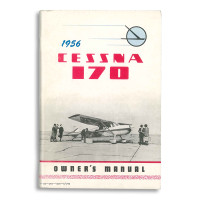 UP130-13   CESSNA 170B OWNERS MANUAL 1956