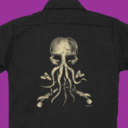 Jolly Roger Cthulhu workshirt