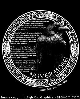 Edgar Allan Poe - Nevermore hoody