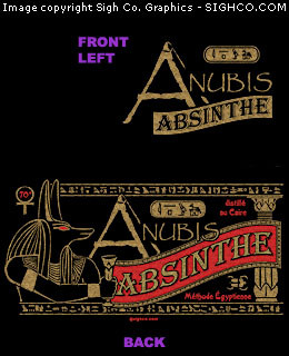 Anubis Absinthe Work shirt
