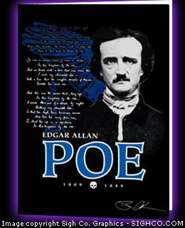 Edgar Allan Poe Annabel Lee note cards (set of 10)