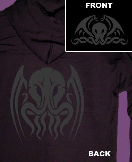 Tribal Cthulhu zip up hoody