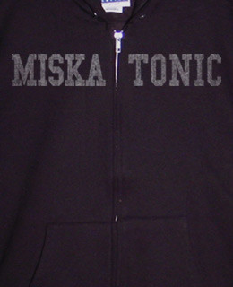 Miskatonic zip up hoody