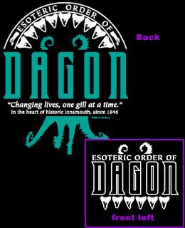 Esoteric Order of Dagon zip up hoody