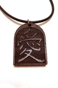 Love Kanji pendant