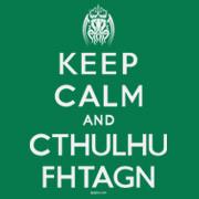 Keep Calm and Cthulhu Fhtagn t-shirt