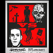 Zompire VS H.P. Lovecraft Film Festival limited poster