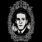 H.P. Lovecraft Oval Portrait shirt