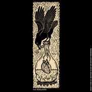 Raven woodcut shirt