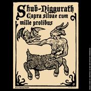 Shub-Niggurath woodcut shirt