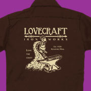 Lovecraft Ironworks work shirt