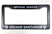 Arkham Sanitarium License Plate Frame