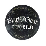 Black Goat of the Woods Tavern Coasters