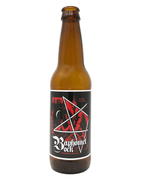 Baphomet Bock reusable vinyl beer label