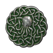 Cthulhu Celtic Knotwork Pin