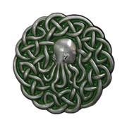 Cthulhu Celtic Knotwork Pin