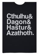 Cthulhu&Dagon&Hastur&Azathoth T-shirt