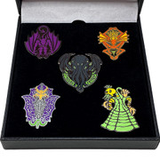 Deluxe Set of 5 Cthulhu Mythos Monster enamel pins