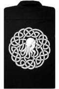 Celtic Cthulhu Knotwork work shirt
