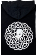Celtic Cthulhu Knotwork zip up hoody