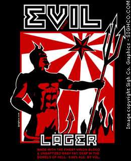 Evil Lager (black)