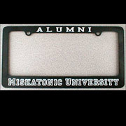 Miskatonic U. License Plate Frame