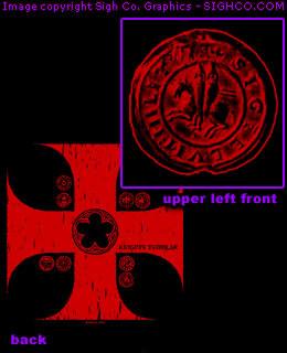 Knights Templar work shirt