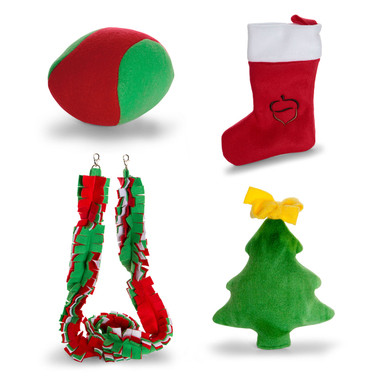 Pet-safe holiday decorations and toys