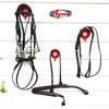 Complete Gag  Bridle / Reins, Martingale and Padded Breastplate. Gag  bit and nylon rounds are not included.