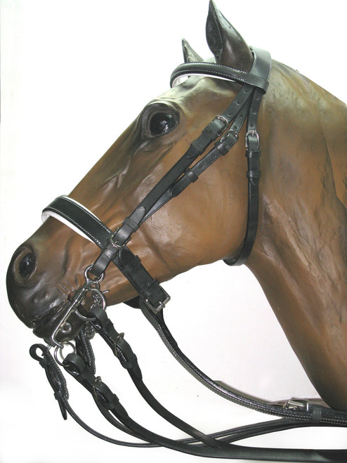 Complete Polo Bridle Padded.