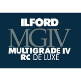 Ilford MG4RC1M Multigrade IV RC Glossy Photo Paper- 11x14in 10 Sheet