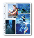 """Print File 35-10P Archival Storage Page- 3.5 x 5"""", 25-Pack"""