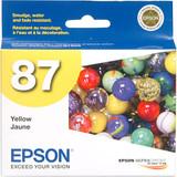 Epson 87 Ink Cartridge- Yellow