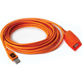 Tether Tools TetherPro USB 3.0 to Female Active Extension- Orange