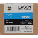 Epson T850 UltraChrome HD Ink- Cyan