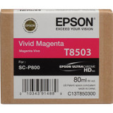 Epson T850 UltraChrome HD Ink- Vivid Magenta