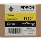 Epson T850 UltraChrome HD Ink Cartridge 80 ml- Yellow