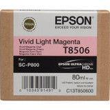 Epson T850 UltraChrome HD Ink Cartridge 80 ml- Vivid Light Magenta