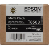 Epson T850 UltraChrome HD Ink- Matte Black