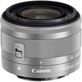 Canon EF-M 15-45mm f/3.5-6.3 IS STM Lens- Silver *Special Order Only*