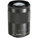 Canon EF-M 55-200mm f/4.5-6.3 IS STM Lens- Black
